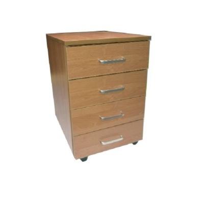 Kontenerek biurowy mobilny 4 szuflady