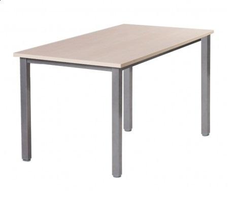 Stół konferencyjny na ramie, noga kwadratowa 120 x 70 cm