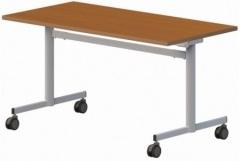 Stół konferencyjny składany na kółkach 160/80