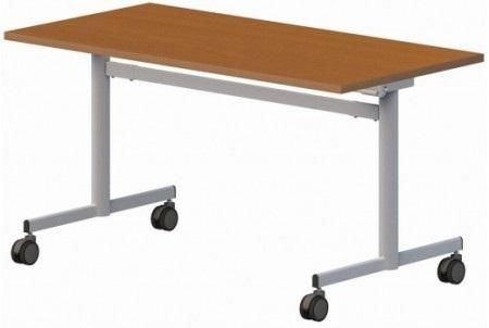 Stół konferencyjny składany na kółkach 120/80