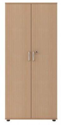 Szafa biurowa na dokumenty 180/80/40, szafa aktowa z drzwiami, regał z drzwiami zamknięty