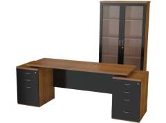 Zestaw gabinetowy BUSY BOX z kontenerami i szafą aktową 2200/700/36
